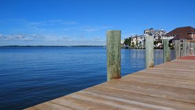 Waterfront of Ocean city in Maryland Royalty Free Stock Photo