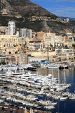 Waterfront Of Monte Carlo In Monaco Royalty Free Stock Photos