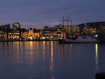 Waterfront of Oslo, Norway Royalty Free Stock Photo