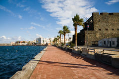 Waterfront, Pantelleria Stock Photography