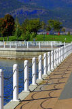 Kelowna Waterfront Park stock photo