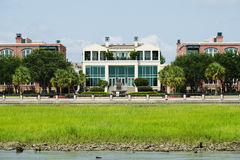 Waterfront park in Charleston, SC. Waterfront public park in Charleston, SC Stock Image