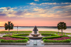 Waterfront Park Charleston. Charleston, South Carolina, USA at Waterfront Park Royalty Free Stock Images