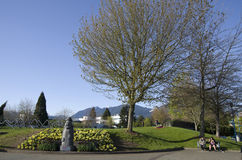 Waterfront Park North Vancouver Stock Image