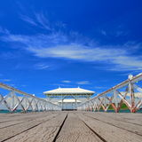 Waterfront Pavilion Stock Image