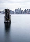 Waterfront Piers Dock Buildings Boats Seattle Royalty Free Stock Photography