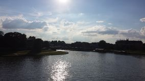 Waterfront. In Poland,  lovely wiew a sunny day Royalty Free Stock Photography