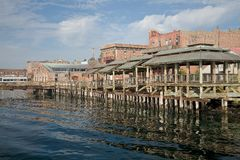 Waterfront in Port Townsend, Washington Stock Image