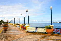 Waterfront promenade recife Stock Photos