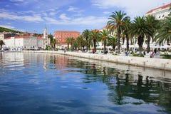 Waterfront Promenade in Split Royalty Free Stock Image