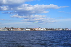 Waterfront Property Royalty Free Stock Images