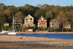Waterfront Property Royalty Free Stock Image