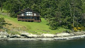 Waterfront Property royalty free stock photography