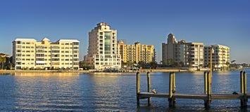 Waterfront Property, Gulf Coast Royalty Free Stock Photos