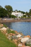 Waterfront property in St. Andrews Royalty Free Stock Photos