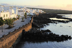 Punta Mujeres village, Lanzarote Island, Canary Islands, Spain Stock Photo