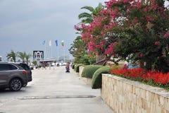 Waterfront resort town of Saint Vlas Royalty Free Stock Photo