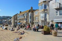 Waterfront at Saint Ives, Cornwall, England Stock Images