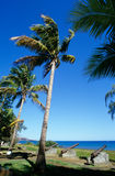 Waterfront at Saint Paul, Reunion Island Royalty Free Stock Photography