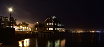 Waterfront Seaport Village Stock Photography