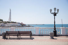 The waterfront at Sevastopol Stock Images