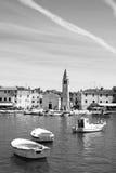 Waterfront square in Fazana , Croatia Royalty Free Stock Images