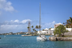 Waterfront St. George's, Bermuda Royalty Free Stock Images