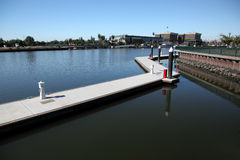 Waterfront Stockton California Royalty Free Stock Images