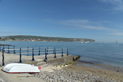 Waterfront at Swanage Stock Photography