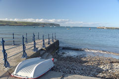 Waterfront at Swanage Royalty Free Stock Photography
