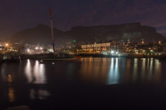 Waterfront and Table Mountain Royalty Free Stock Images