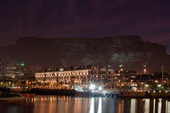 Waterfront and Table Mountain Royalty Free Stock Photography
