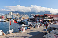 Waterfront and Table Mountain Royalty Free Stock Photo