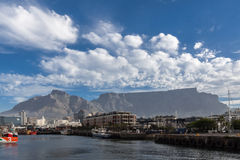 Waterfront and Table Mountain Stock Photography