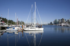 Waterfront Vancouver Canada  Royalty Free Stock Photo
