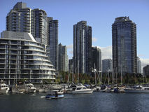 Waterfront in Vancouver Stock Photography