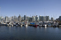 Waterfront Vancouver Royalty Free Stock Photography