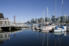 Waterfront Vancouver Stock Image