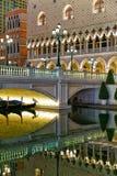 Waterfront in Venetian Macao Casino and Hotel luxury resort Macau Stock Photos