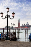 The Waterfront Of Venice. Royalty Free Stock Photo