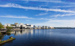 Waterfront Royalty Free Stock Photography