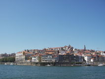Waterfront view in Oporto Royalty Free Stock Image