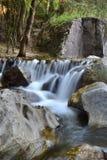 Waterfull在泰国 库存图片