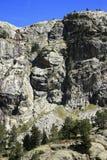 Waterfull in Bergen in Tena-vallei, de Pyreneeën Panticosa Stock Afbeeldingen
