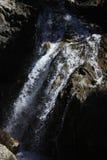 Waterfull w górach w Tena dolinie, Pyrenees Panticosa Zdjęcie Stock