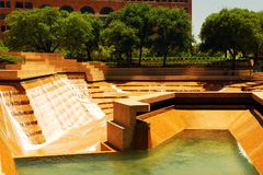 Watergarden, Ft Worth, Texas stock image