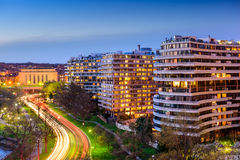 Watergate Complex Royalty Free Stock Photography