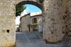 The Watergate Lagrasse Stock Images