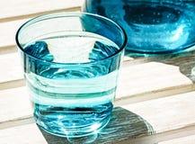 Waterglas Royalty-vrije Stock Afbeelding