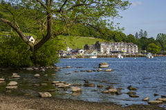Waterhead on Lake Windermere Royalty Free Stock Images